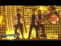 Bruno Mars Grammy 2012 - Un crack!
