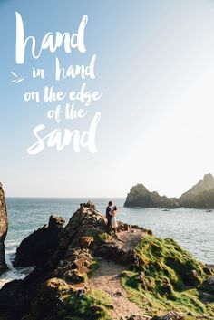 Hand in Hand on the Edge of the Sand - On Serpentine Shores