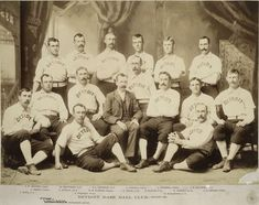 1887 Detroit Wolverines major league baseball team.