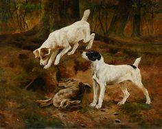 Arthur Wardle - Gaurding The Days Catch