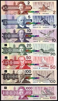 banknotes - Canada paper money catalog and Canadian currency history, before the loonie toonie 2 Dollar Bill, Canadian Things, Canadian Flags, Canadian Dollar, Vancouver, Canada 150, Canada Funny, Canadian History, Canadian English