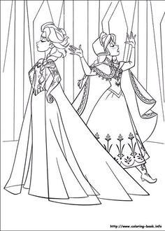 35 FREE Disney's Frozen Coloring Pages (Printable) / Free Printable Coloring Pages for Kids - Coloring Books Frozen Coloring Sheets, Frozen Coloring Pages, Disney Princess Coloring Pages, Disney Princess Colors, Coloring Pages To Print, Free Printable Coloring Pages, Coloring Book Pages, Coloring Pages For Kids, Kids Coloring