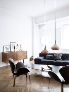 Stefan Söderberg's home, from the Swedish fashion label HOPE