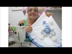 Como fazer a manta ursinho 3d (vídeo 2) - YouTube Clay Crafts, Diy And Crafts, Magic Hands, Crochet Baby Shoes, Soft Dolls, Baby Boy Shower, Sewing Crafts, Blanket, Knitting
