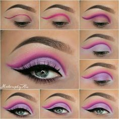 Gorgeous Makeup: Tips and Tricks With Eye Makeup and Eyeshadow – Makeup Design Ideas Eye Makeup Images, Eye Makeup Designs, Eye Makeup Art, Blue Eye Makeup, Smokey Eye Makeup, Eyeshadow Makeup, Simple Eyeshadow, Eyeshadow Palette, Makeup Ideas