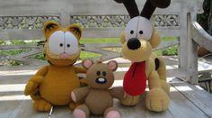 Patron Amigurumi : Pouki – le doudou de Garfield – Made by Amy