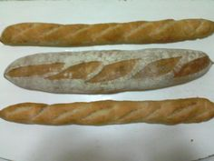HOMEMADE. French Baguettes - I had fun making these