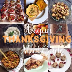 Vegan Thanksgiving Menu Guide