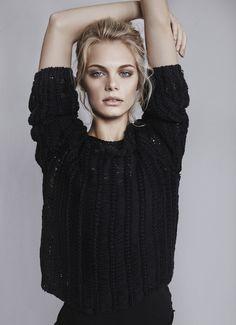 breathinchanel:   dioruniverse:  topmodelcentral:  Kristin Kagay test shot ~ America (19) ~  b&w fashion  high class bitches