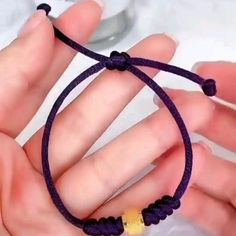 Diy Friendship Bracelets Patterns, Diy Bracelets Easy, Braided Bracelets, Handmade Bracelets, Slip Knot Bracelets, Wire Jewelry Designs, Jewelry Knots, Handmade Jewelry Bracelets, Bracelet Knots