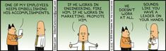 Leadership - a definition?! - Dilbert by Scott Adams