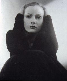 """Greta Garbo by Edward Steichen, Vanity Fair 1928  """"When I first became interested in Photography, I thought it was the whole cheese. My idea was to have it recognized as one of the fine arts. Today I don't give a hoot in Hell about that. The mission of Photography is to explain man to man and each man to himself.""""- Edward Steichen"""