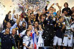 The LA Galaxy defend their MLS Cup