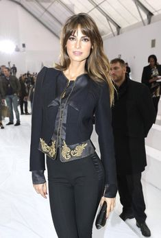 Ariadne Artiles attends the Roberto Cavalli Spring/Summer 2011 fashion show during Milan Fashion Week Womenswear on September 27, 2010 in Milan, Italy.