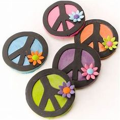 Peace Symbol - Cookies