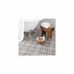 Devonstone Grey Feature 33.1cm x 33.1cm Floor Tile