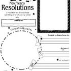 Enjoy this great New Year's Resolutions handout! Students can write about their dreams, goals and plans for the New Year. Post these resolutions in...