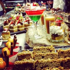 Desserts buffet at Riu Palace Mexico - Sweet table - All Inclusive - sweets - mexican sweets