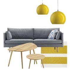 Täältä tulee kolme erilaista ja oman tyylistäni olohuonesettiä. Iskun kanssa toteutetussa yhteistyöpostauksessa pääsin mukavasti syventymään vähän tarkemmi Love Seat, Couch, Table, Furniture, Home Decor, Environment, Create, Settee, Decoration Home