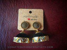 Imitation Jewelry, Diamond Earrings, Jewelry Design, Jewellery, Handmade, Jewels, Hand Made, Schmuck, Diamond Drop Earrings
