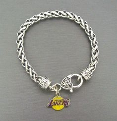 "Los Angeles Lakers La 7 1/2"" Charm Bracelet #NBA New from $7.0"