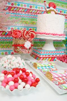 Parties | Candy Christmas Birthday Party « We Love Crafty Tracey