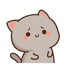 Cute Bunny Cartoon, Cute Kawaii Animals, Cute Cartoon Drawings, Cute Love Cartoons, Anime Girl Drawings, Kawaii Cat, Kawaii Anime, Cute Love Gif, Cute Cat Gif