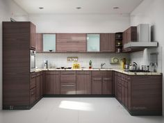 [ Best Kitchen Design Ideas With Different Styles And Layouts Shaped For Small Kitchens Home Improvement ] - Best Free Home Design Idea & Inspiration Moduler Kitchen, Kitchen Cupboard Designs, Kitchen Modular, Kitchen Designs Photos, Kitchen Room Design, Modern Kitchen Cabinets, Best Kitchen Designs, Interior Design Kitchen, Kitchen Decor