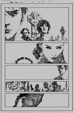 in Chad Carlson's Lee, Jae Comic Art Gallery Room Comic Book Artists, Comic Artist, Comic Books Art, Dark Tower Art, The Dark Tower, Dark Comics, Bd Comics, Boichi Manga, Graphic Novel