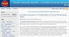 Certified is one of the most reputable security companies in Florida, and we'll go that extra mile to ensure that your home is protected at all times, especially while you're enjoying your relaxing vacation.