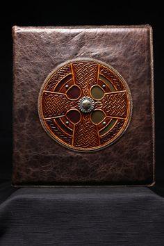 Ethos Custom Brands - Celtic Oracle Portfolio Cover, $259.00 (http://www.ethoscustombrands.com/celtic-oracle-portfolio-cover/)