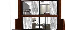 Vizualizácia mezonetu - čelný pohľad Shelves, Home Decor, Shelving, Homemade Home Decor, Shelf, Open Shelving, Decoration Home, Interior Decorating