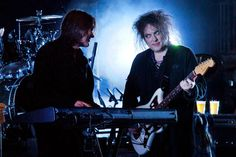 Roger O'Donnell and Robert Smith