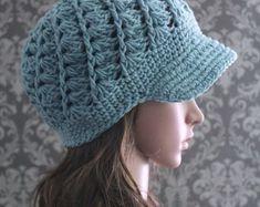 Crochet PATTERN Crochet Hat Pattern Crochet von PoshPatterns