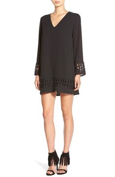 ASTR+Crochet+Shift+Dress+available+at+#Nordstrom