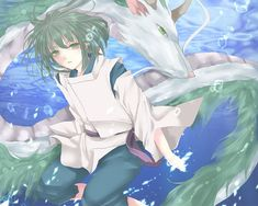 Tags: Anime, Fanart, Spirited Away, Haku, Studio Ghibli