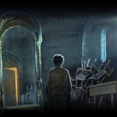 With Fantastic Beasts and Where to Find them just hitting theaters, I thought I'd share one of my favorite Harry Potter memories: The Mirror of Erised. If I could look into this mirror, I would like to think that I would know what I would see, the thing that I desire most. After all these years, I would like to think that I know what that would be... but I have learned that if there is one thing we cannot know entirely, it is that which we keep buried deepest.