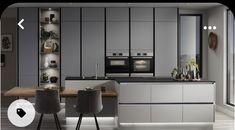 Kitchen Cupboard Doors, Kitchen Units, Kitchen Handles, Kitchen Cabinets, Kitchen Ideas, Kitchen Modular, Kitchen Redo, Kitchen Island, Larder Storage