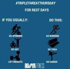How to Spend Your Active Rest Day