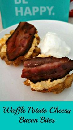 Check out what I'm making tonight for our viewing party- easy peasy snack! #ad #JoyintheKitchen  http://kellysthoughtsonthings.com/snack-waffle-potato-cheesy-bacon-bites/