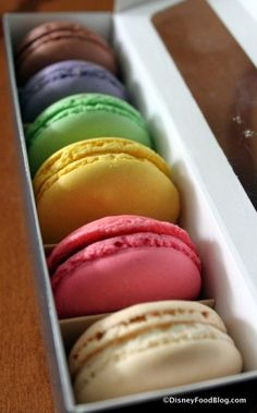 The Macarons Collection from Les Halles Boulangerie Patisserie in Epcot's France! #DisneyFood #WDW