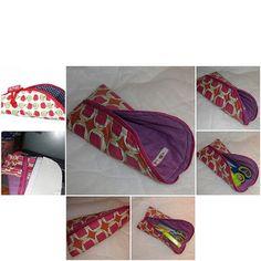 Sleeping Bag Pen Pouch Tutorial / Schlafsäckchen