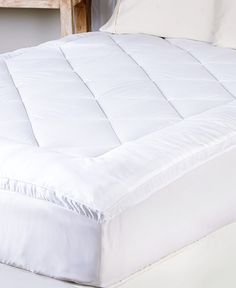 Waterproof Mattress Protector Pillow Top Bedding Bed Cover Gusset Topper Home Pillow Top Mattress, Mattress Pad, Mattress Covers, Mattress Protector, Bed Covers, Bed Pillows, Velvet Duvet, Queen Bedding Sets, Comforter Sets