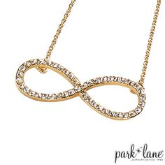 Infinite Necklace I Park Lane Jewelry E! Network Line  Purchase at http://parklanejewelry.com/rep/kschmidt