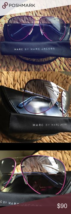 Marc By Marc Jacobs Aviators  Sexy Marc by Marc Jacobs, bought at Nordstrom. Worn couple times. No scratches, like brand new! Marc Jacobs Accessories Sunglasses