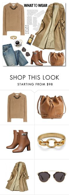 """jeans & camel"" by gifra ❤ liked on Polyvore featuring Burberry, Tory Burch, Diane Von Furstenberg, Christian Dior, Dolce&Gabbana, women's clothing, women's fashion, women, female and woman"