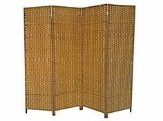 Urnporium Woven 4 Panel Room Divider with Solid Wood Fram... https://www.amazon.com/dp/B073G9JXW6/ref=cm_sw_r_pi_dp_U_x_ZRAsAbHTSZS9D