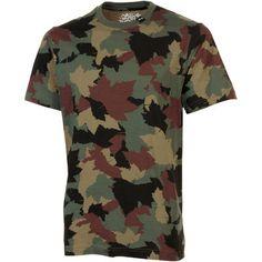 LRG Core Collection Nine Camo T-Shirt - Olive