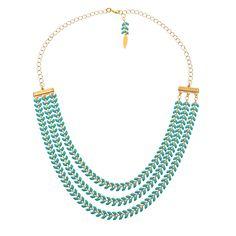 Le collier Aquatique - La Cabane à Perles