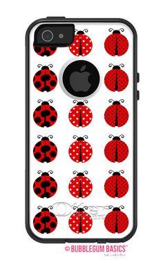iPhone 5 5S 4 4S Samsung Ladybugs Kids Phone #Case